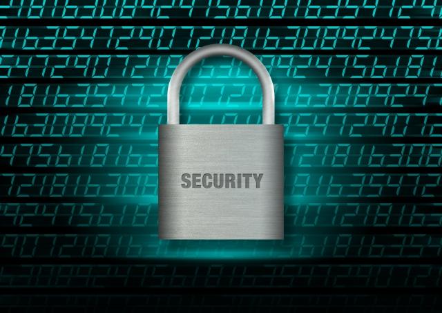 セキュリティを表す鍵