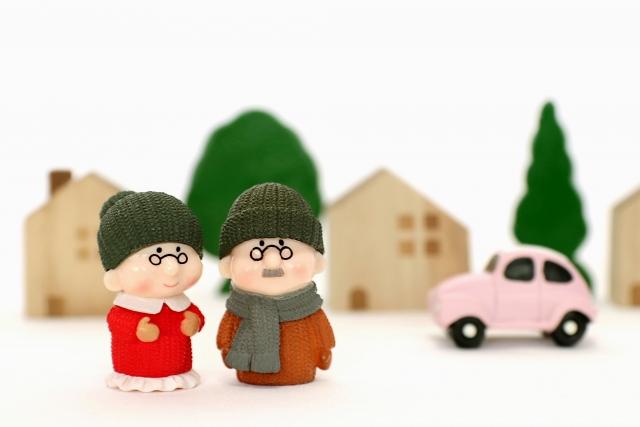 家を所有する老夫婦