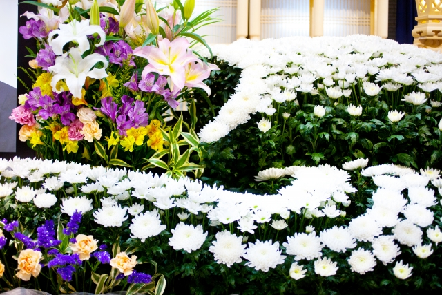葬儀に使用する花